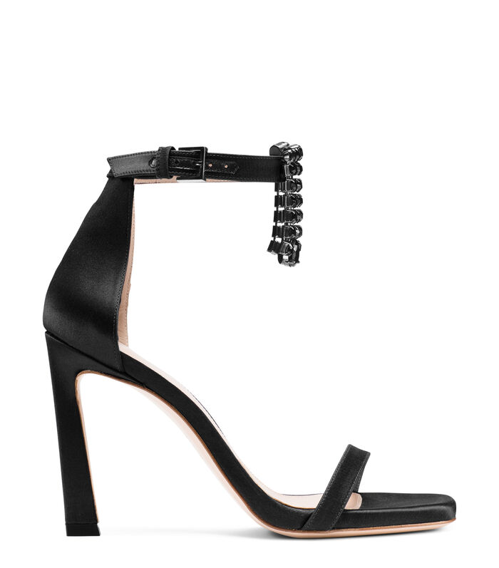 THE 100FRINGESQUARENUDIST SANDAL